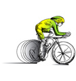 Cycling - Cyclist vector image vector image