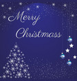 dazzle your loved ones with this christmas vector image vector image