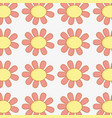 flowers plants bacround icon vector image vector image