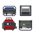 generator power generating portable vector image