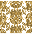Luxury seamless pattern with decorative ornament vector image