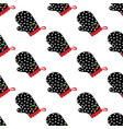 potholder seamless pattern vector image