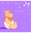 Romantic Bear-1 vector image