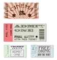 Set tickets vector | Price: 3 Credits (USD $3)