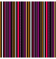 Stripes Seamless pattern Winter colors pattern vector image vector image