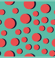 Abstract circle pattern vector image