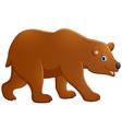 Cute baby bear cartoon vector image vector image