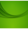 Green Template Abstract background with vector image vector image