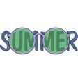 summer days banner design vector image