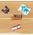 time to travel vacation travel icons emblem vector image vector image