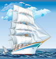 best cruise ships collection of yachts ships and vector image