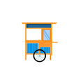 cart or gerobak vector image vector image