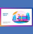 cheap bus tickets concept vector image