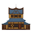 chinese castle image vector image