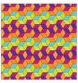 colorful box background pattern vector image vector image
