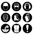Construction Industry Icons vector image vector image