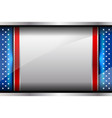 flag america backgrounds style vector image vector image
