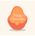 happy halloween card background poster vector image vector image