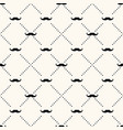 seamless retro pattern with mustache vector image vector image
