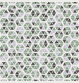 seamless trendy hexagon mosaic tile swatch pattern vector image vector image