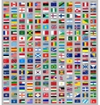 216 Flags of the world vector image