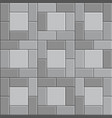 3d brick stone pavement gray sidewalk stone vector image