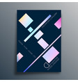 abstract background design with linear gradient vector image vector image