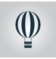 balloon journey web icon sign and button