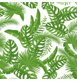 cartoon style summer seamless pattern vector image vector image