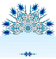 Decorative Background fifty three vector image vector image