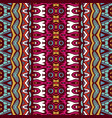 ethnic tribal festive pattern for fabric vector image vector image