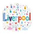 Liverpool vector image vector image