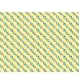 Seamless diagonal wave abstract pattern vector image vector image