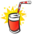 Soda can vector image