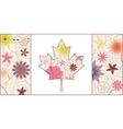 Vintage Canada flag 2 vector image vector image