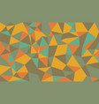 abstract low poly background geometric polygonal vector image