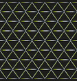 abstract triangle pattern with grunge effect vector image vector image