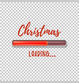 christmas loading abstract design template vector image vector image