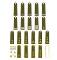 Czech army insignia vector image vector image