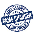 game changer stamp vector image vector image