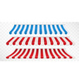 red and white blue and white strip colorful vector image
