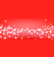 red bokeh background red festive background with vector image vector image