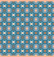 seamless abstract retro geometric pattern blended vector image vector image
