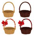 Set of Baskets2 vector image vector image