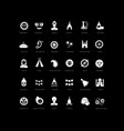 simple icons ratha yatra vector image vector image