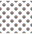target pattern seamless vector image vector image