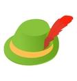 Irish hat icon icon cartoon style vector image vector image