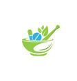 pharmacy medical logo vector image