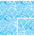 seamless background ice cubes vector image vector image