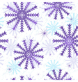 Seamless Christmas grunge pattern vector image vector image